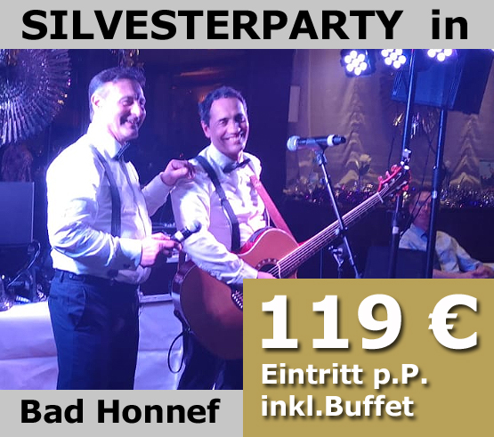 Silvesterparty in Bad Honnef
